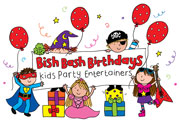 Bish Bash Birthdays logo